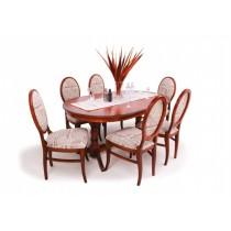 Amira 6 személyes étkező München 160-as asztallal