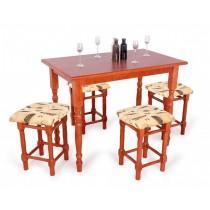 Lina 4 személyes étkező Berta 80 as asztallal