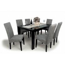 Berta  6 személyes étkező Piero asztallal