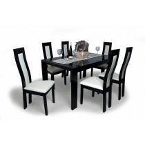 Dante  6 személyes étkező Piero asztallal