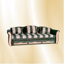 Berlin kanapé, 2 karfás